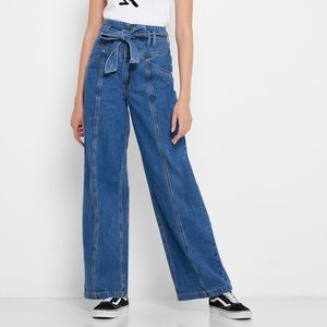 Forever21 high waisted flare jeans